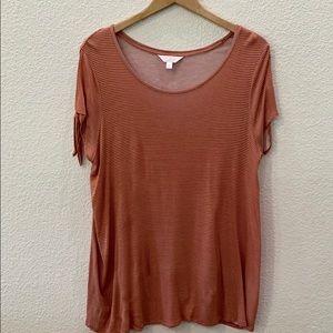 LC Lauren Conrad maternity shirt
